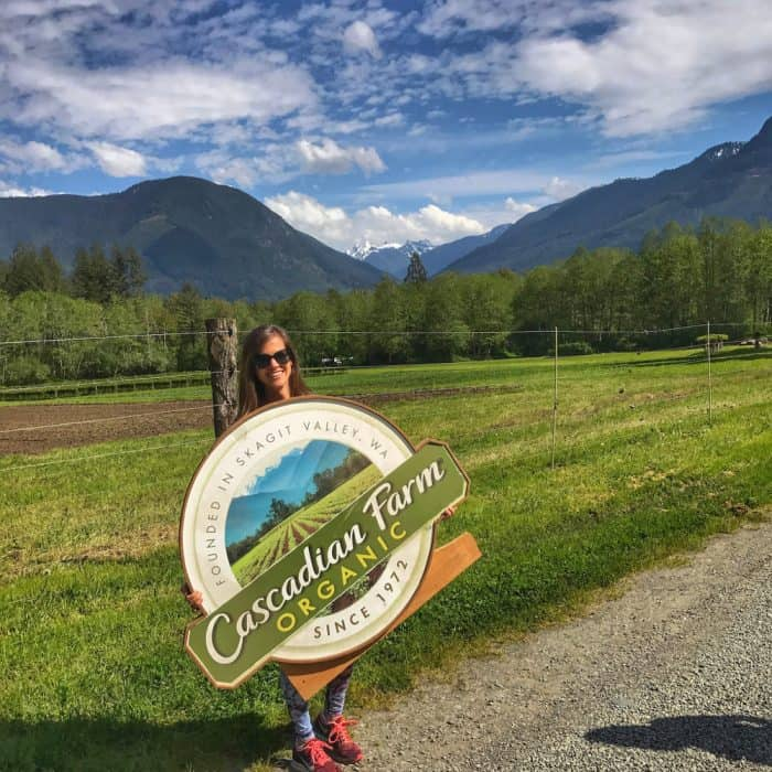 Adventures at Cascadian Farm from Living Well Kitchen