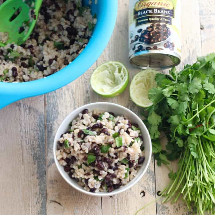 Cilantro Lime Rice and Beans from Living Well Kitchen
