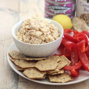 Roasted Garlic Tuna Salad