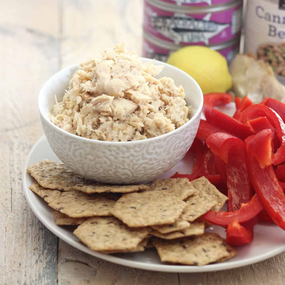 Roasted Garlic Tuna Salad
