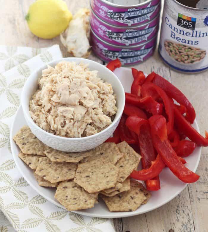 Roasted Garlic Tuna Salad from Living Well Kitchen