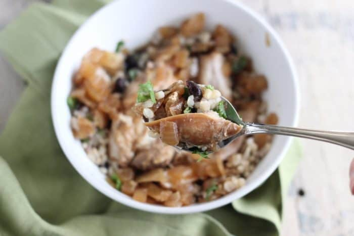 Slow Cooker Chicken Adobo from Living Well Kitchen