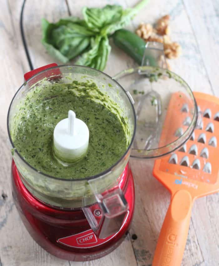Spicy Pesto from Living Well Kitchen