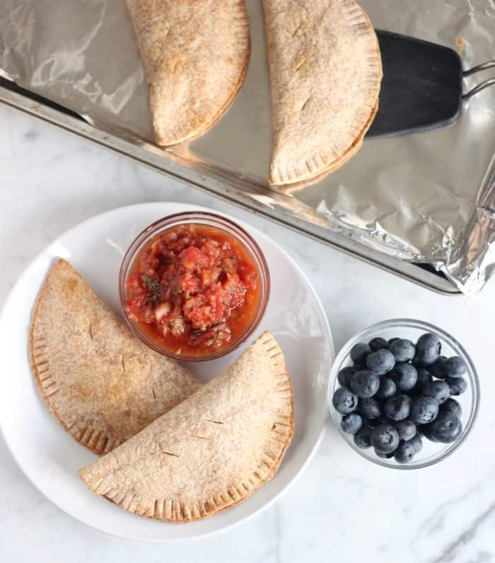 Turkey and Vegetable Empanadas from Living Well Kitchen