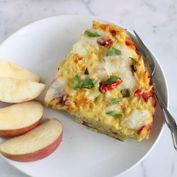 Skillet Hash Brown Breakfast Casserole from Living Well Kitchen
