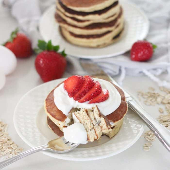 Coconut Protein Pancakes from Living Well Kitchen