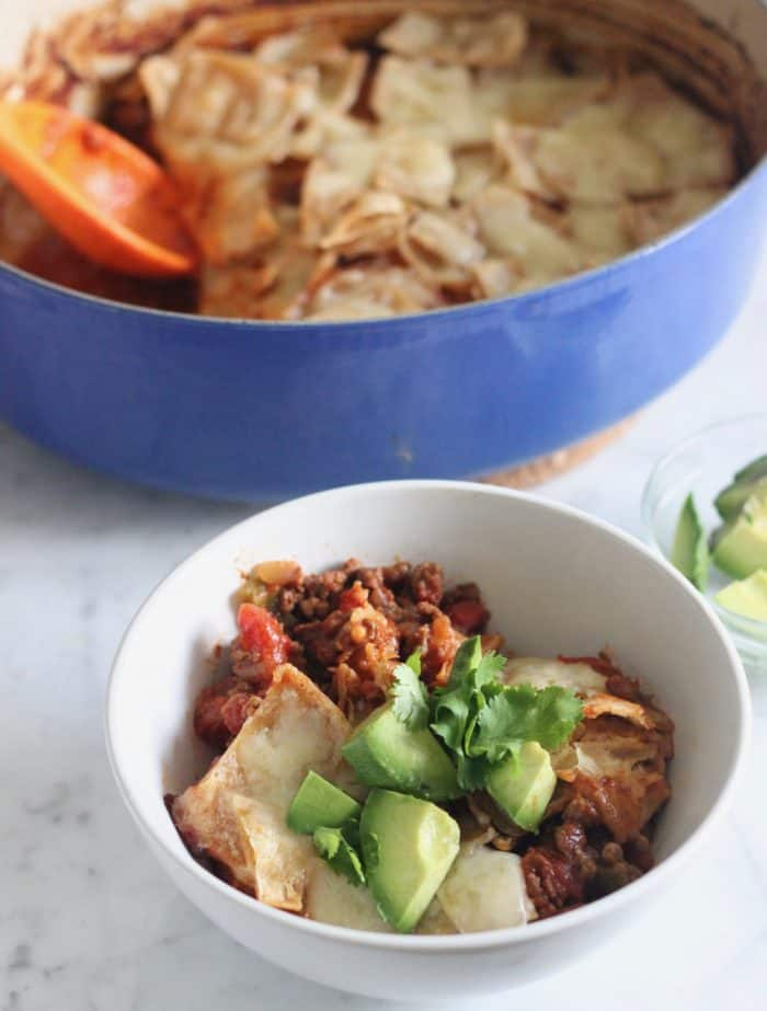 One Pot Taco Casserole from Living Well Kitchen