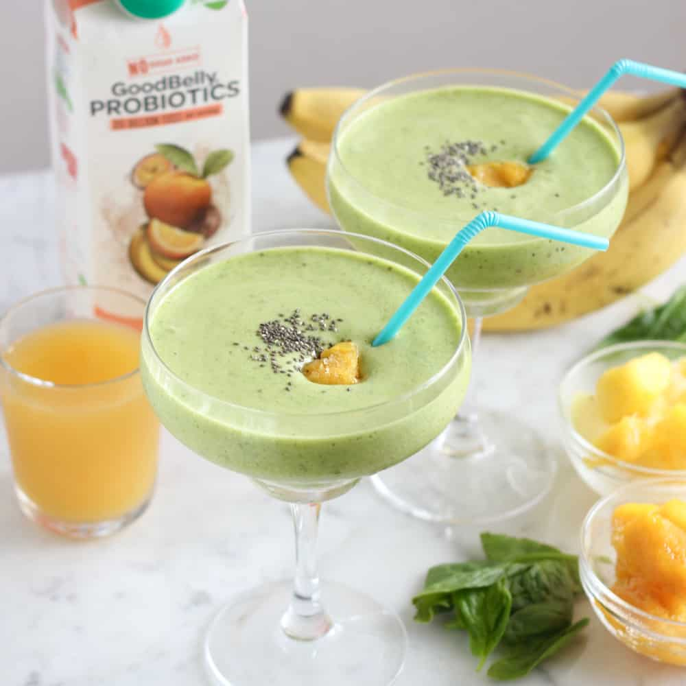 Tropical Green Smoothie from Living Well Kitchen