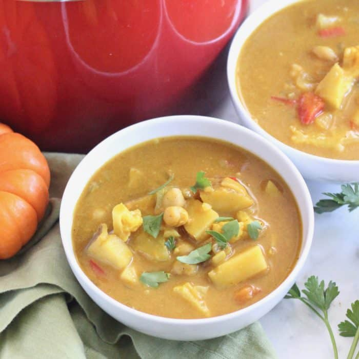 Pumpkin Curry Soup from Living Well Kitchen