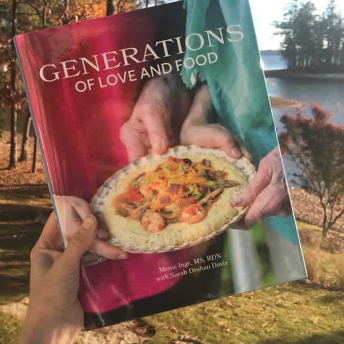 Generations of Love and Food Cookbook from Living Well Kitchen