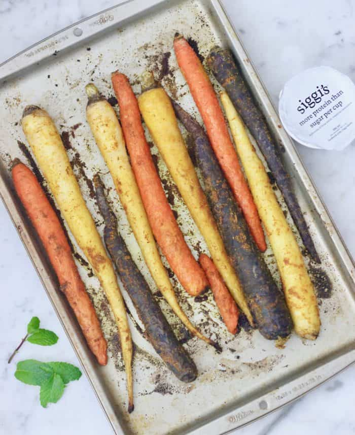Spiced Roasted Carrots from Living Well Kitchen