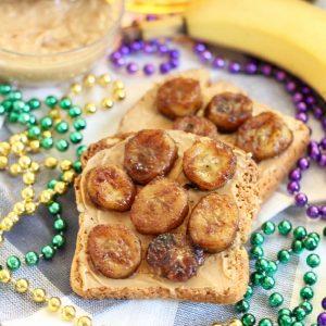 Bananas Foster Toast