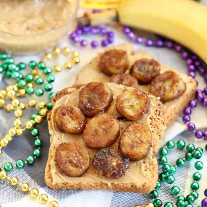 Bananas Foster Toast from Living Well Kitchen