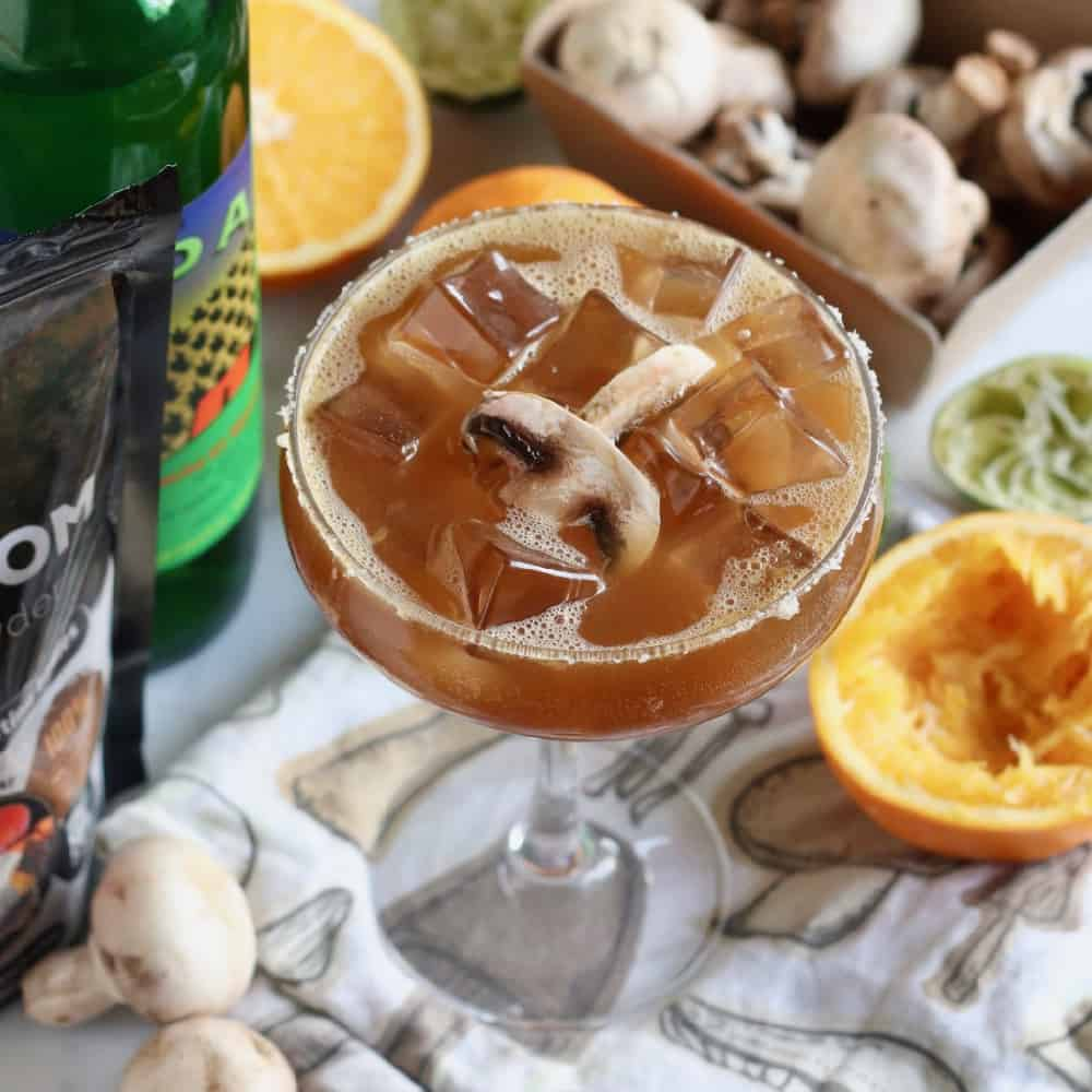 Mushroom Margarita from Living Well Kitchen