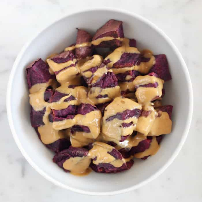 Breakfast Potatoes with Peanut Butter from Living Well Kitchen