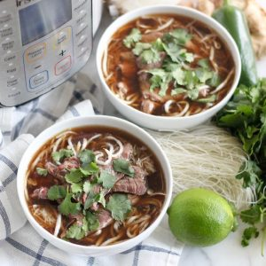 Instant Pot Pho from Living Well Kitchen