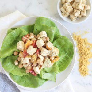 Vegan Greek Tofu Salad