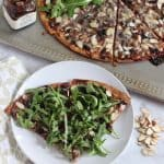 Wild Blueberry Gruyere Pizza from Living Well Kitchen