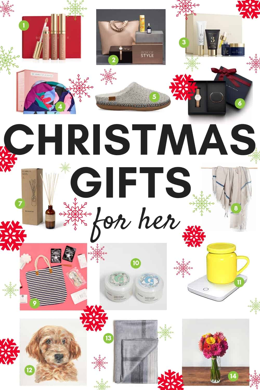 Running out of ideas for what to give the female in your life this holiday season? Here are some fun Christmas gift ideas that she'll enjoy for year round. This gift guide isn't just random ideas from the internet; they've all been personally tested and well-received! #Christmasgifts #holidaygifts