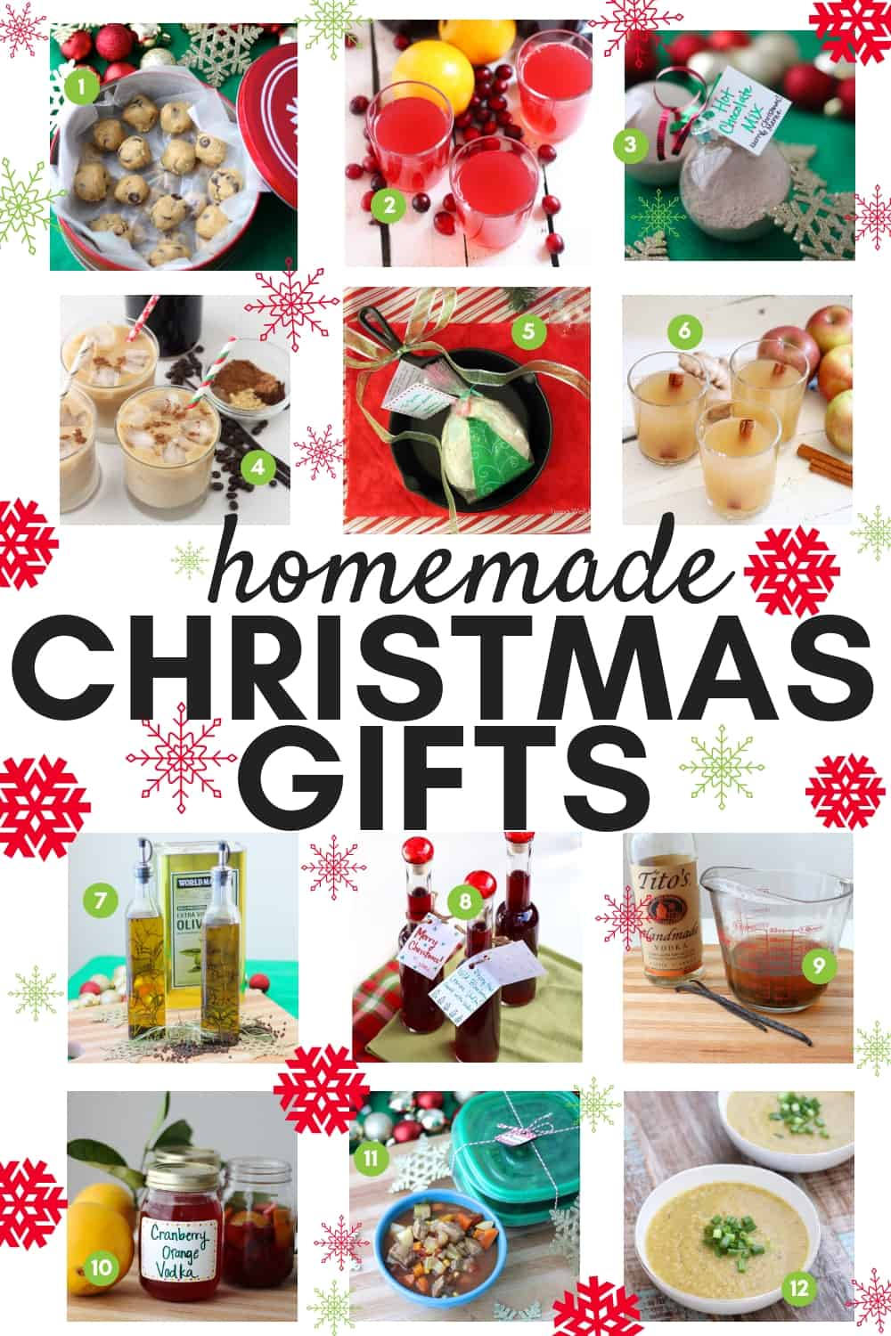 Homemade gifts that you can enjoy for longer than the holiday season that people will be begging you to make year after year. This is a collection of DIY presents you'll be excited to give to your friends and family this Christmas. #Christmasgifts #homemadegiftideas