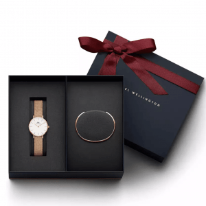 daniel wellington watch and bracelet