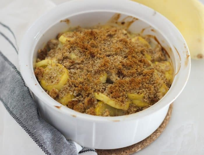 cooked squash casserole