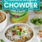 bowl of cheeseburger chowder